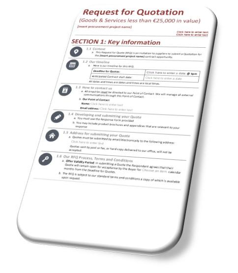 RFQ Templates & RFQ Guide