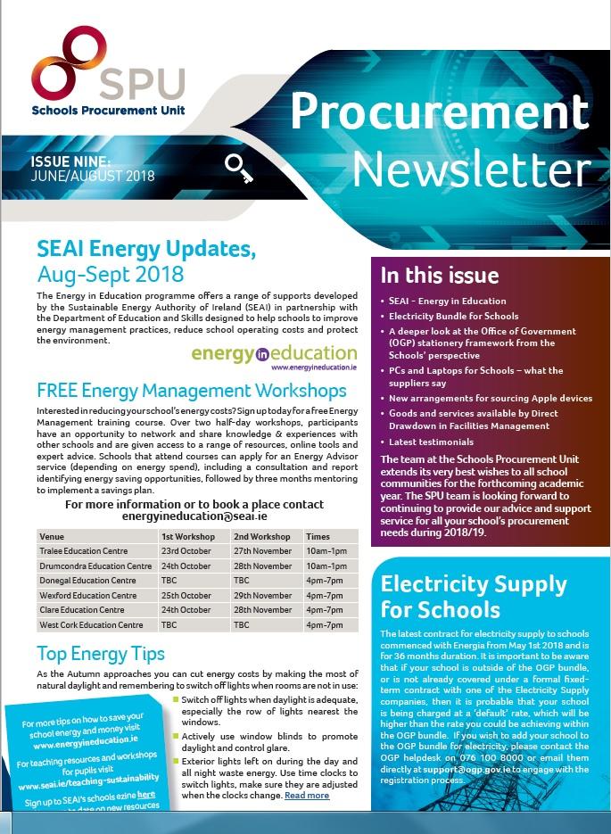 procurement newsletters